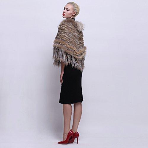 URSFUR - Abrigo - para mujer marrón