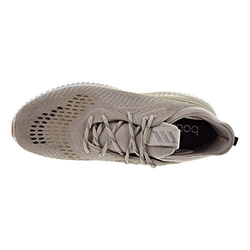 Zapatillas Adidas Alphabounce Lea Para Hombre Marrón Claro / Running Blanco By3122