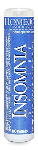 Homeocare Labs Insomnia Relief, 80 pellets (Pack of 2)