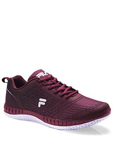 Fila Men's Men's Philly Running Shoes Burgundy