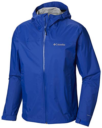(Columbia Men's EvaPOURation Rain Jacket, Waterproof and Breathable-)