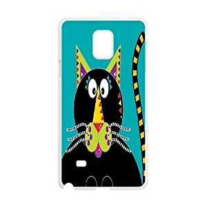 Cross Eyed Cat Wholesale DIY Cell Phone Samsung Galaxy Note3 , Cross Eyed Cat Samsung Galaxy Note3 Phone Case