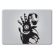 Iron Man Superhero Apple Macbook Laptop Decal Vinyl Sticker