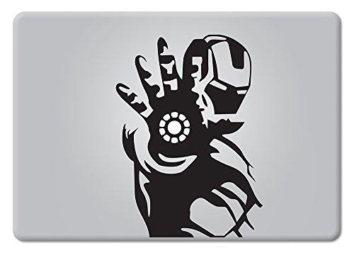 Iron Man Superhero Apple Macbook Laptop Decal Vinyl Sticker