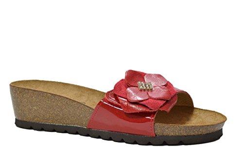 Melluso Ciabatte sandali rosso scarpe donna 01647P