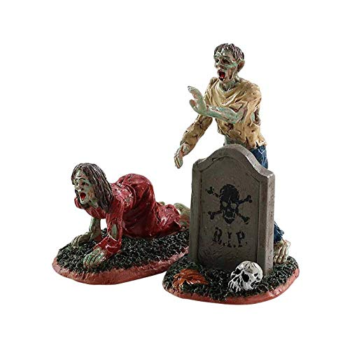 Lemax Halloween Village Zombies (Set of 2) #82567 -