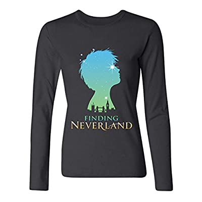 IIOPLO Women's Finding Neverland Musical Long Sleeve T-Shirt