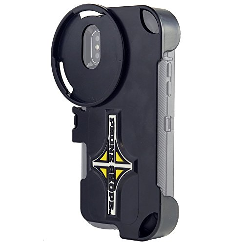 Phone Skope Phone CASE ONLY | Digiscoping kit for Spotting Scope, Binocular, Microscope, Zoom Camera, Hunting, Biology, Birdwatching, Birding and Phone Scope Lenses (iPhone X Otterbox Defender)