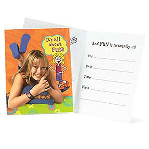 Lizzie McGuire Invitations w/ Env. (8ct)