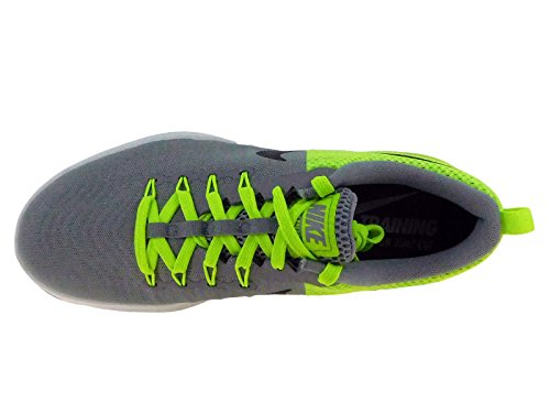 Nike Mens Zoom Treno Azione Stealth / Volt / Bianco / Nero In Nylon Scarpe Da Corsa 11,5 M Us