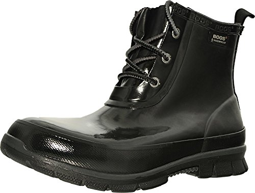 Amanda Womens Rubber Chukka Bogs Negro Boots x4vZBwq