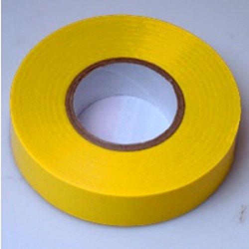 [Bulk value pack] Cleva PVC cinta aislante–amarillo–Pike & Co. ® Branded (W/garantía extendida) [paquete a granel de 25]