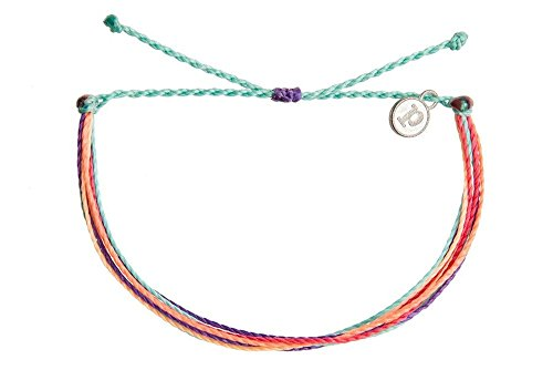 Pura Vida Tribal Glow Bracelet - Handcrafted with Iron-Coated Copper Charm - Wax-Coated, 100% Waterproof from Pura Vida
