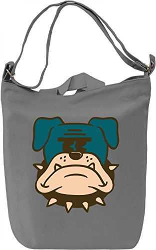 Angry dog Borsa Giornaliera Canvas Canvas Day Bag| 100% Premium Cotton Canvas| DTG Printing|