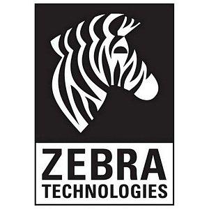 Zebra Silver Monochrome Ribbon - 7