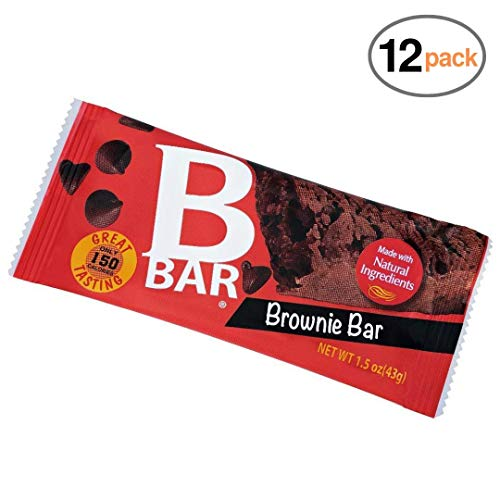 - Nutritional Choices BBar Chocolate Brownie Bar 12 Count   Healthy Breakfast and Lunch Snacks   Whole Grains Natural Ingredients   No Preservatives, 4g Fiber, Kosher, 0 Trans Fats   Nut Free Facility