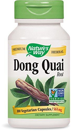 Nature's Way Dong Quai Root, 565mg, 100 Capsules (Pack of 2)
