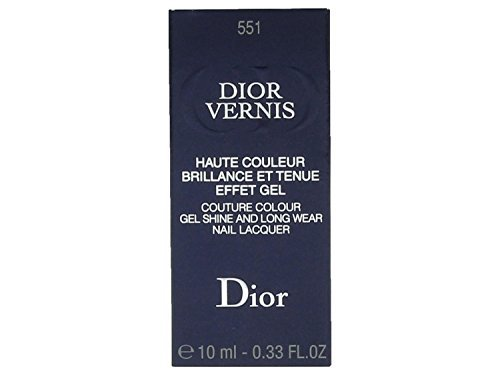 Christian Dior Vernis Nail Lacquer for Women, 551/Aventure, 0.33 Ounce (Pack of 5)