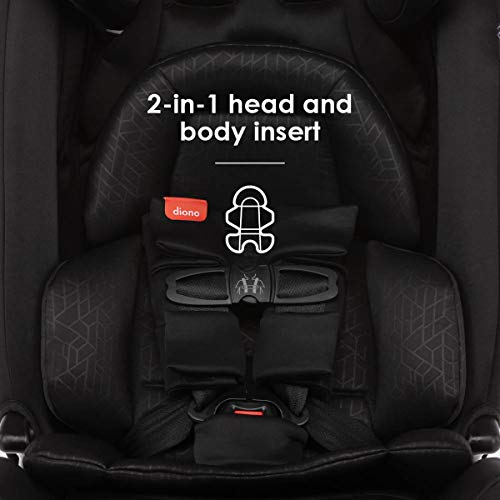 41Ql%2ByAqAtL - Diono Radian 3RXT, 4-in-1 Convertible Extended Rear And Forward Facing Convertible Car Seat, Steel Core, 10 Years 1 Car Seat, Ultimate Safety And Protection, Slim Design - Fits 3 Across, Jet Black