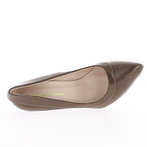 Scarpe grande vita femmina nera 12cm in raso tacco e piattaforma