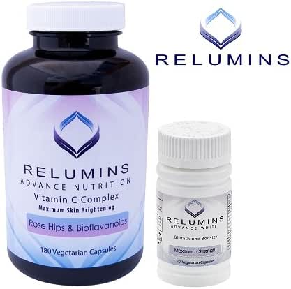 Relumins Advanced Vitamin C MAX Complex & Booster Capsules - Ultimate Booster Set