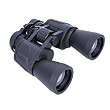 20x50 Wide Angle Binoculars Waterproof - Wide Field of View, Close Focus. Better and Brighter for Bird Watching Surveillance, Hunting, Concerts and etc