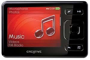 creative zen 32 gb portable media player black home audio theater. Black Bedroom Furniture Sets. Home Design Ideas
