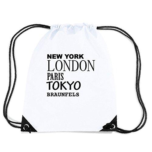 JOllify BRAUNFELS Turnbeutel Tasche GYM2317 Design: New York, London, Paris, Tokyo