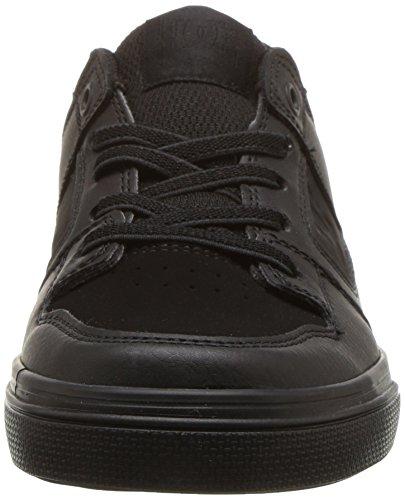 DC Unisex-Child Pure Elastic, Black/Black/Black, 6.5 M US Big Kid