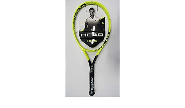 Amazon.com : Head Graphene 360 Extreme Pro Tennis Racquet, Free Synthetic Gut String (#2 [4 1/4]) : Sports & Outdoors
