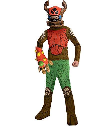 Rubies Skylanders Swap Force Tree Rex Costume, Child Medium