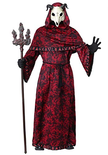 Mens Demon Halloween Costumes (Adult Demon Costume Large/X-Large)