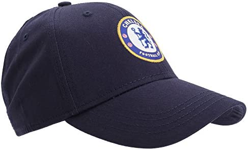 710426457 Chelsea FC Unisex Official Football Crest Baseball Cap (One Size ...