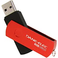 DANE ELECTRONICS 8 GB USB 3.0, Red (DA-U308GSP-R)
