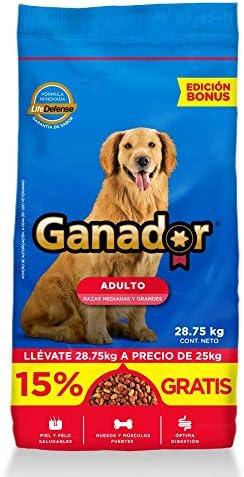 Ganador 25kg, Alimento para Perros Adultos de Razas Medianas y Grandes. 3