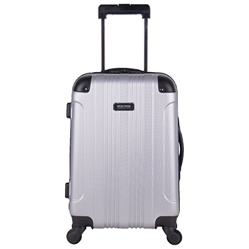 Kenneth Cole Reaction Out Of Bounds 20-Inch Carry-On Lightweight Durable Hardshell 4-Wheel Spinner Cabin Size Luggage 20 Expandable Mobile Traveler