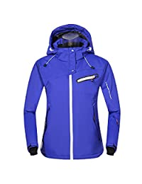 Phibee Womens Waterproof Outdoor Snowboard Breathable Ski Jacket
