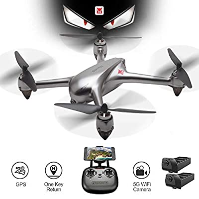 XFUNY MJX Bugs 2 SE GPS Drone the Latest Version of MJX 2018, App Operation iOS Android 1080P 5G WiFi Camera Record Video 1-Key RTH Altitude Hold Track Flight Headless Brushless Motor 2 Battery, Suita by XFUNY