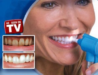 Shop Online Tooth Polisher Whitener Stain Remover with LED Light Luma Smile Rubber Cups