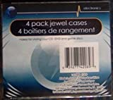 4 Pack Jewel Cases