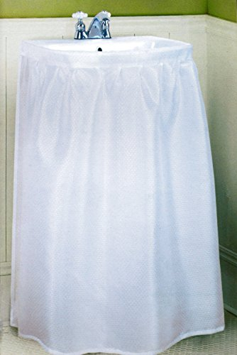 Amazon Better Home New Fabric Sink Skirt White Arts Crafts Sewing
