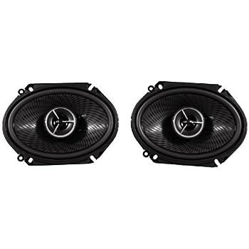 speakers 6x8. kenwood excelon kfc-x683c 6 x 8 inch 2 way pair of car speakers totalling 6x8