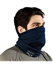 Ergodyne Chill-Its 6486 Fire Resistant Headband, Multifunctional Headwear, Moisture-Wicking, Navy
