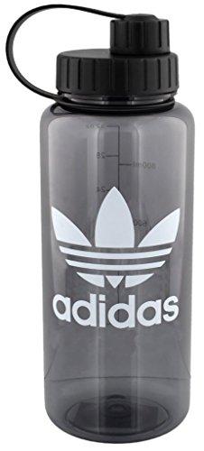 adidas Originals National 1 Liter Plastic Water Bottle (32 oz), Onix/White - Original Plastic Bottle