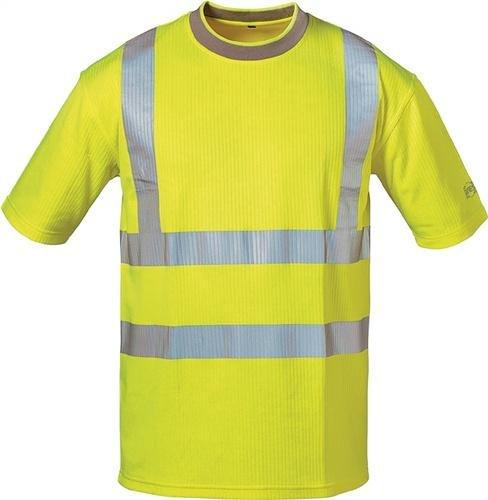 Atmungsaktiv Reflexierend Reflexmaterial Fluoreszierend Pablo Uv Gelb t shirt shirt Warnschutz AW8qwnFB0c