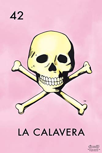 photo relating to Free Printable Mexican Loteria Cards known as : 42 La Calavera Skull Loteria Card Mexican Bingo