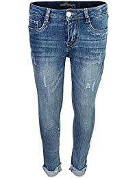 Girl's Skinny Soft Stretch Fashion Cut Denim Jeans (More Colors Available)