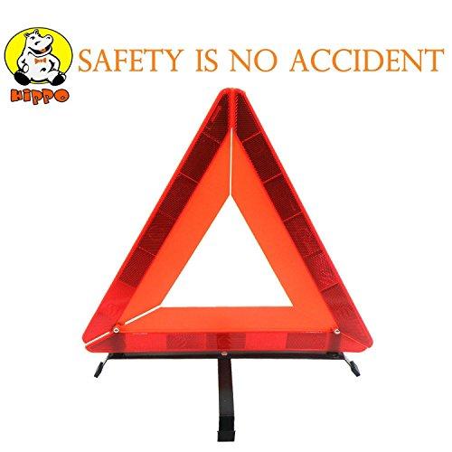 Hippo Alternative Notfall Warndreieck reflektierende licensing, Sicherheit Warnzeichen