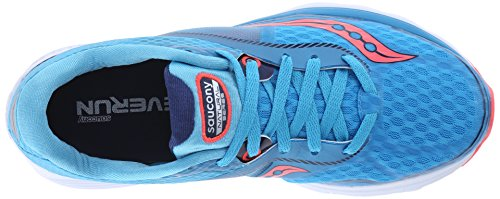 Saucony Women's Kinvara 7 Running Shoe Blue/Navy/Citron sale shop offer ODqqEm