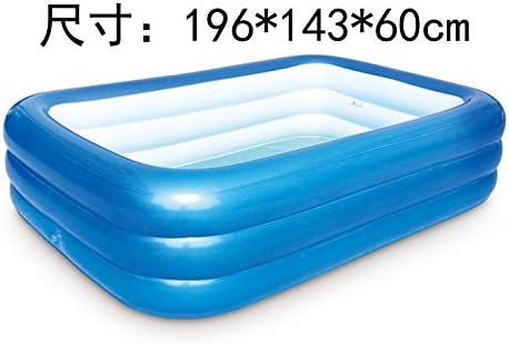 Cyhione Bañera inflable Una piscina hinchable bebé piscina ...